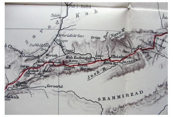 1883 lovett northern persia elburz mountains tehran